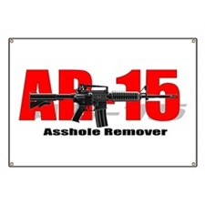 AR15 Asshole Remover Banner