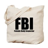Female Body Inspector Tote Bag