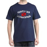 Certified Scuba Diver White  T-Shirt