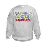 Matthew's 1st Birthday Sweatshirt