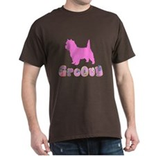 Groovy Cairn Terrier T-Shirt