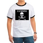 Swimming Pirate Ringer T