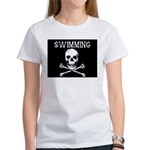 Swimming Pirate Women's T-Shirt