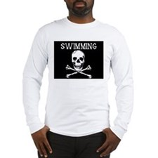 Swimming Pirate Long Sleeve T-Shirt