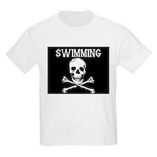 Swimming Pirate Kids T-Shirt