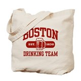 Boston Drinking Team Tote Bag