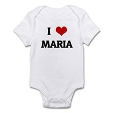 I Love MARIA Infant Bodysuit