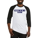 Proud to be Cason Baseball Jersey