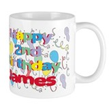 James's 2nd Birthday Mug