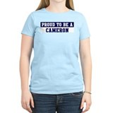 Proud to be Cameron T-Shirt