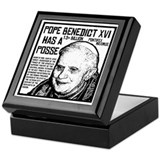 The Pope Has A Posse Keepsake Box