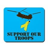 Mousepad Support our Troops design