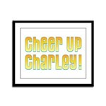 Willy Wonka's Cheer Up Charley Framed Panel Print