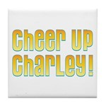 Willy Wonka's Cheer Up Charley Tile Coaster