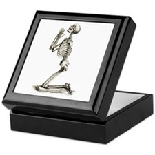 Praying Skeleton Keepsake Box