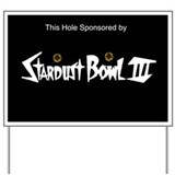 Stardust Sponsorship Sign