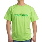 Went Green Alien Green T-Shirt