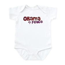 Obama 4 Peace Infant Bodysuit