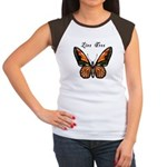 Butterfly Women's Cap Sleeve T-Shirt