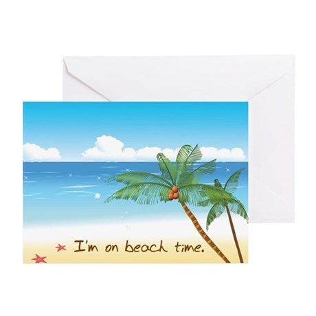 Beach Time Greeting Cards (Pk of 10)