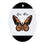 Butterfly Ornament (Oval)