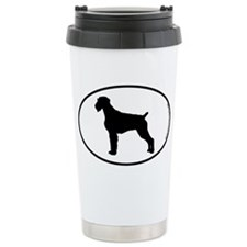 German Wirehair SILHOUETTE Ceramic Travel Mug