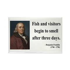 Benjamin Franklin 22 Rectangle Magnet