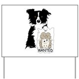 Sheep Wanted Yard Sign