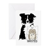Sheep Wanted Greeting Cards (Pk of 20)