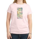 White Dragon T-Shirt (light pink)
