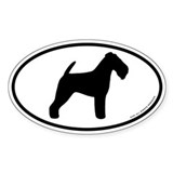 Welsh Terrier Oval Sticker (10 pk)