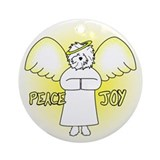 Peace Joy Bolognese Christmas Ornament