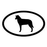 Chinook Oval Sticker (10 pk)