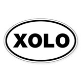 XOLO Oval Sticker (50 pk)