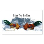 Raise Your Hackles Sticker