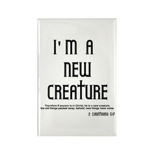 New Creature Rectangle Magnet (10 pack)