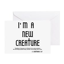 New Creature Greeting Card