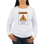 Overly curious Women's Long Sleeve T-Shirt