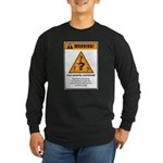 Overly curious Long Sleeve Dark T-Shirt