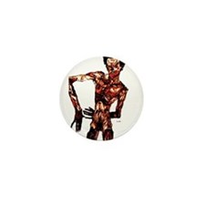 Egon Schiele Self-Portrait Mini Button