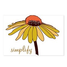 Simplify Postcards (Package of 8)