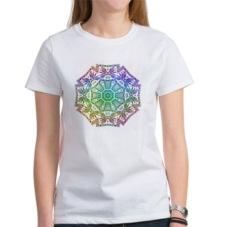 Rainbow Wheel Women's T-Shirt