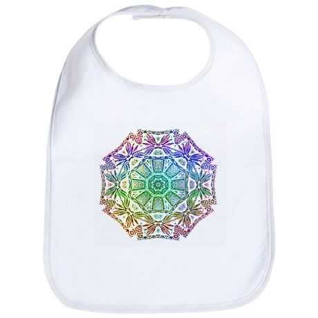 Rainbow Wheel Bib