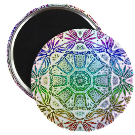 "Rainbow Wheel 2.25"" Magnet (100 pack)"