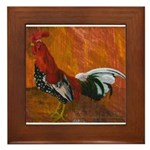 Morgan Whitehackle Framed Tile