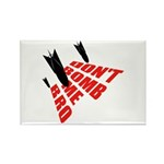 Don't Bomb Rectangle Magnet (100 pack)