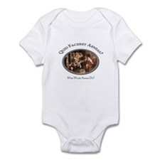 What Would Aeneas Do? Infant Bodysuit