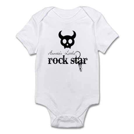 Auntie's Little Rock Star Baby Infant Bodysuit