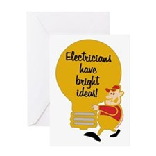 Electricians Greeting Card