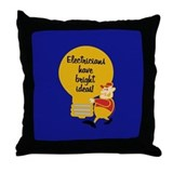 Electricians Throw Pillow